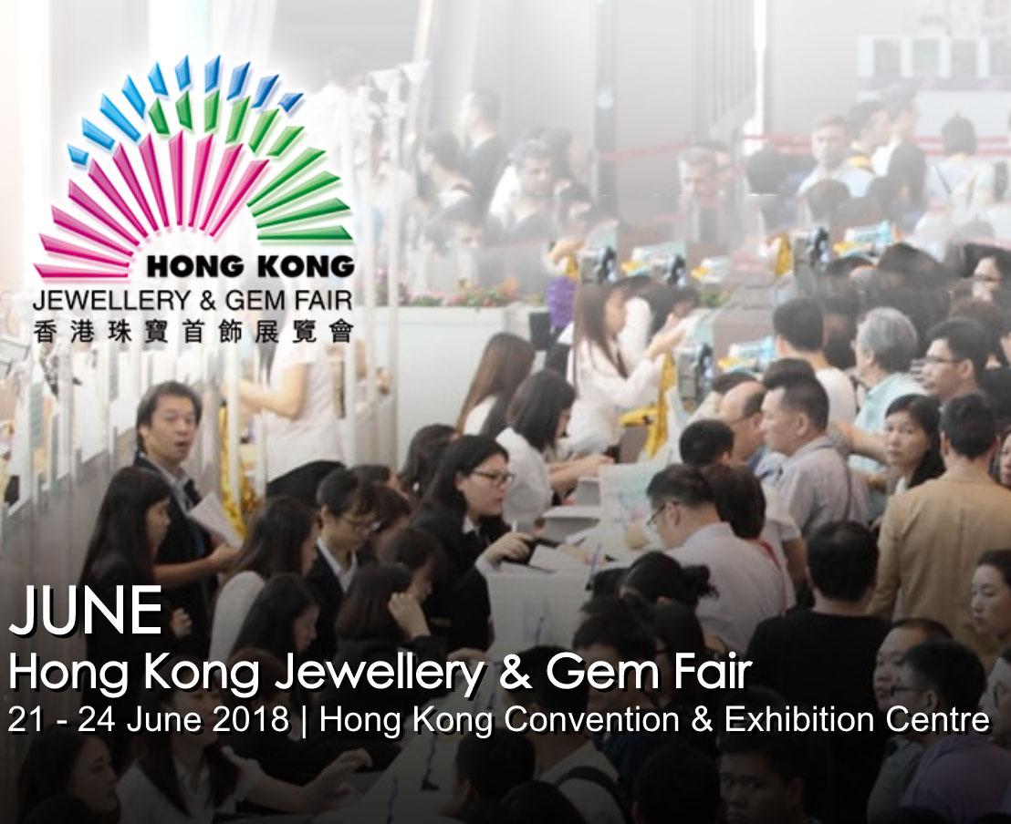 June Hong Kong Jewellery & Gem Fair 2018